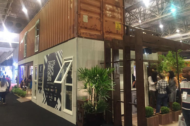 Feicon Batimat mostra casa container de 108 m² com custo inferior a R$ 140 mil