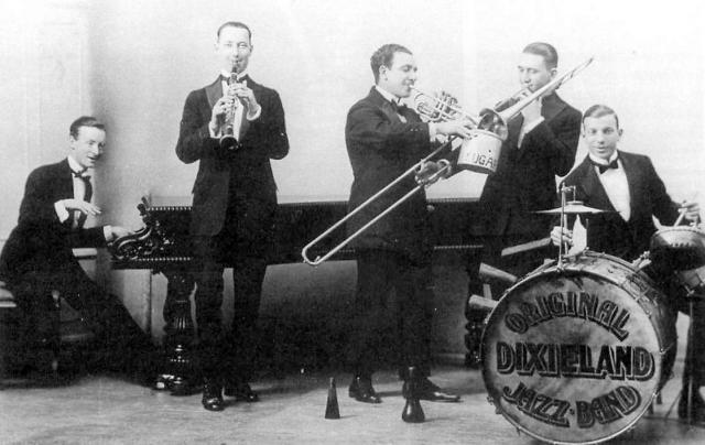 Original Dixieland Jass Band, pioneiros do jazz
