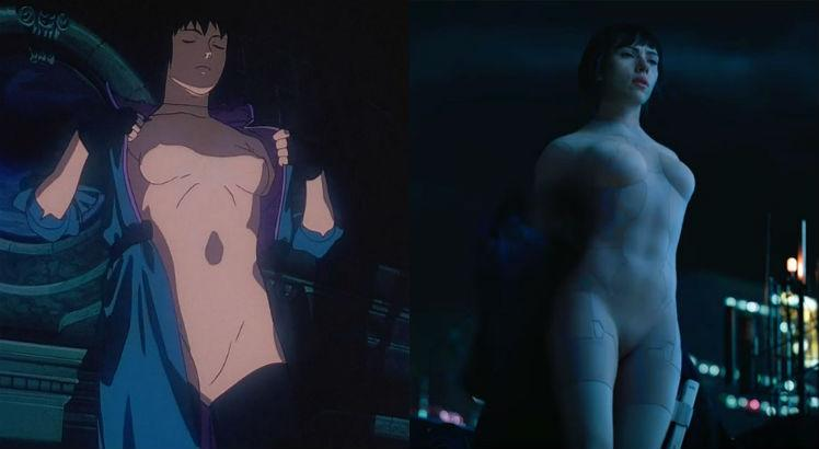 Ghost in the Shell vs. Vigilante do Amanhã