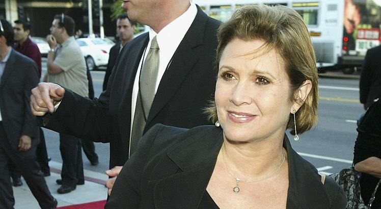 Carrie Fisher. AFP PHOTO / Getty Images North America / Kevin Winter