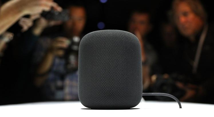 HomePod, da Apple. Foto: Justin Sullivan/Getty Images/AFP