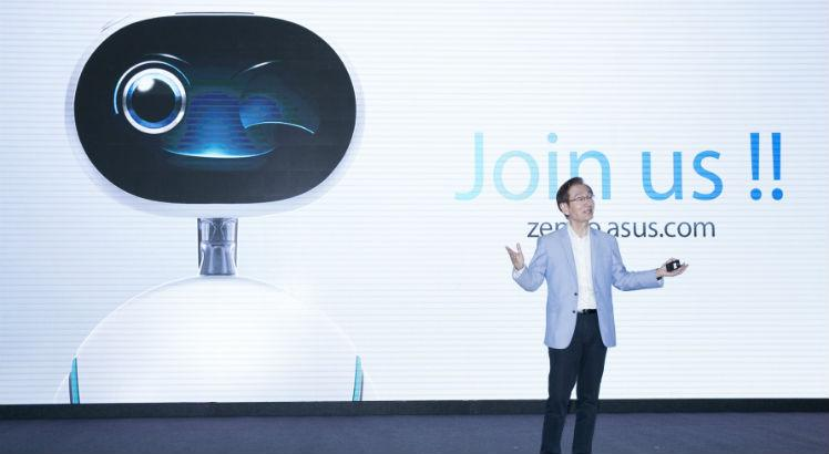 ASUS Chairman Jonney Shih encourages developers and partners to join the Zenbo ecosy