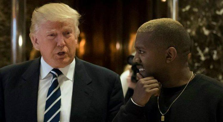 Donald Trump e Kanye West - Foto: Getty Images