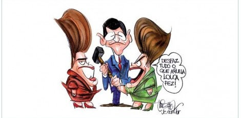 Dilma - charge de miguel