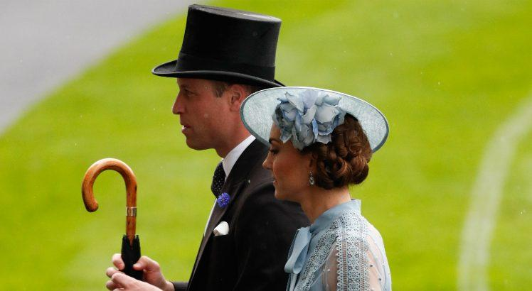 William e Kate (Imagem: Adrian Dennis / AFP)