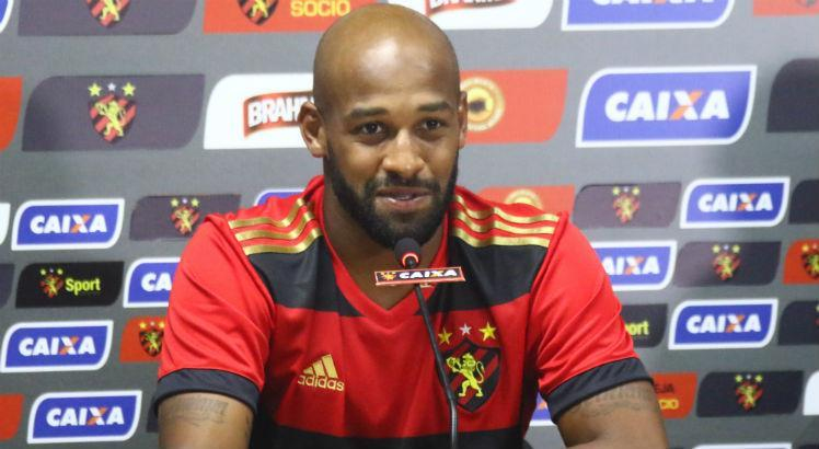 Valor é referente ao empréstimo de Fellipe Bastos, em 2018. Foto: Williams Aguiar/ Sport Club do Recife